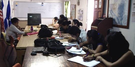 English classes at the MGA Office