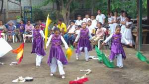 Hossana Learning Center members performing dancing