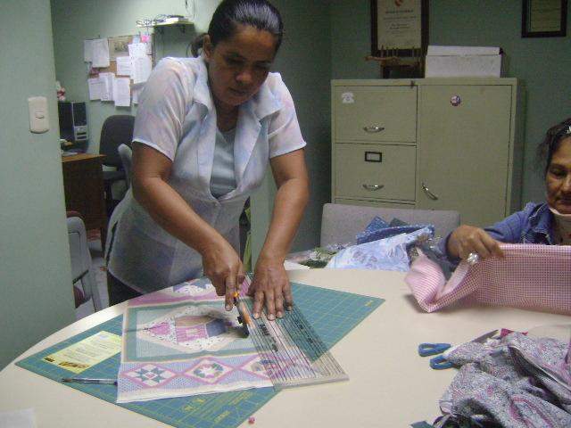 Petronila - preparing for Learning Center classes