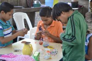 Boys in San Benito learning new skills