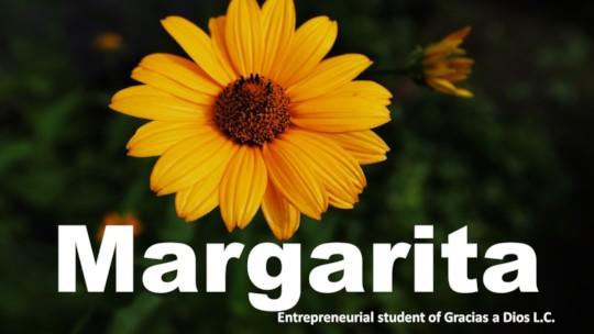 Margarita, an entrepreneurial success story