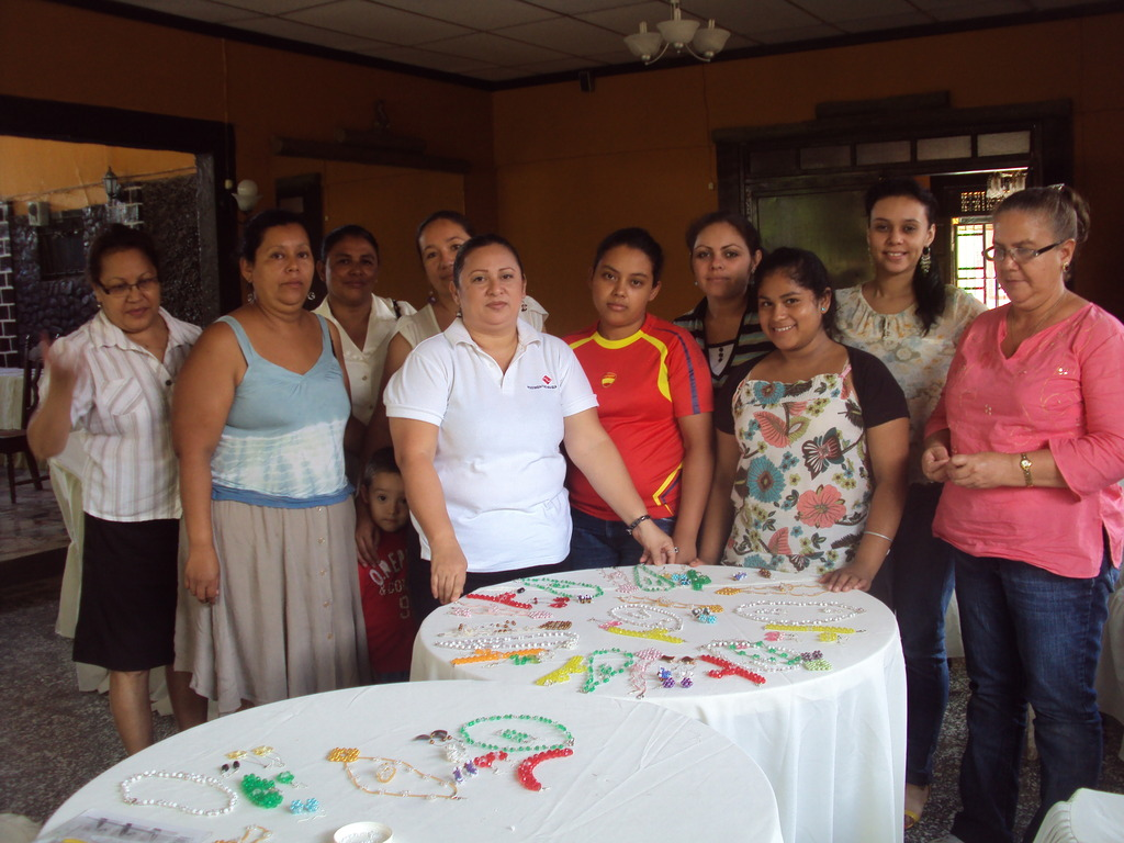 Jewelry workshop in Somoto