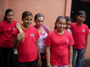 Community center volunteers