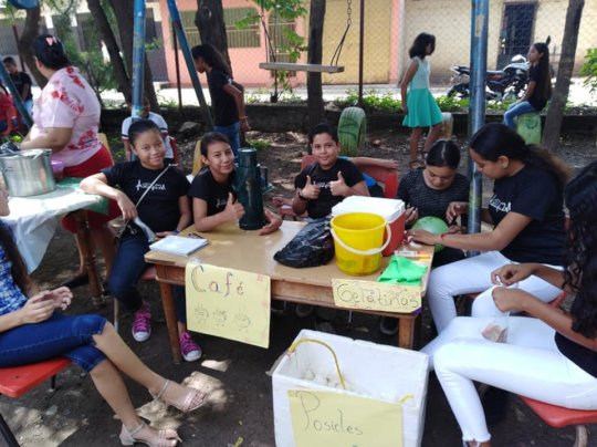 Youth actively involved with sustainability