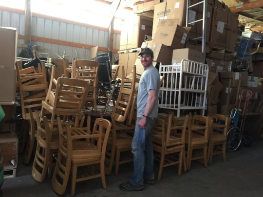 Chairs to be sent for Learning Center classes