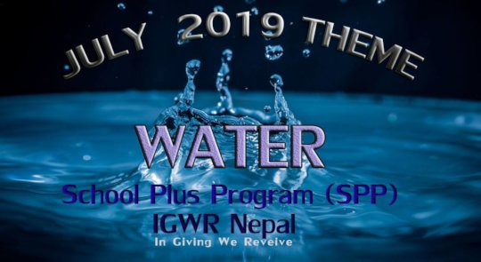 Water theme for the program