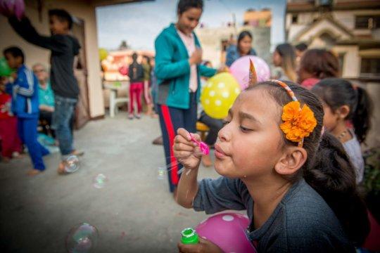 Kids delight in creativity