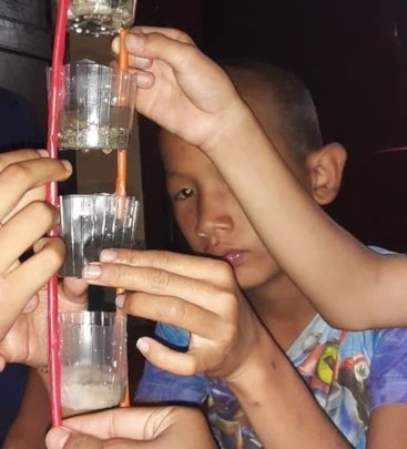Building a water filter