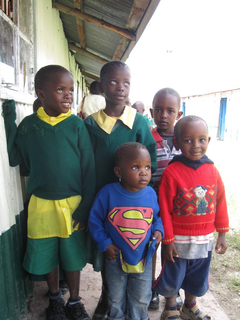 Students at Mzesa School
