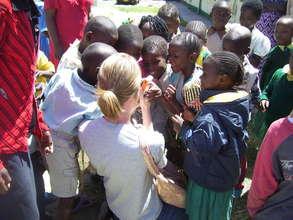 Global Giving staff visit Mzesa in Nairobi