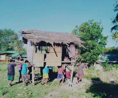 Mangyans collaboration in Matabang Urilan