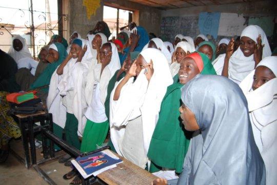 Engagement on Girl empowerment for lDGC