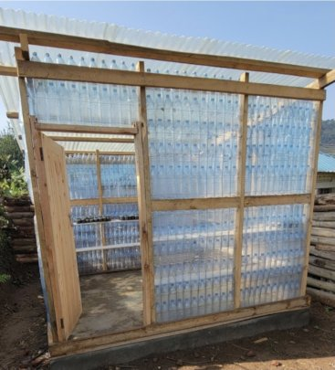The Completed Greenhouse