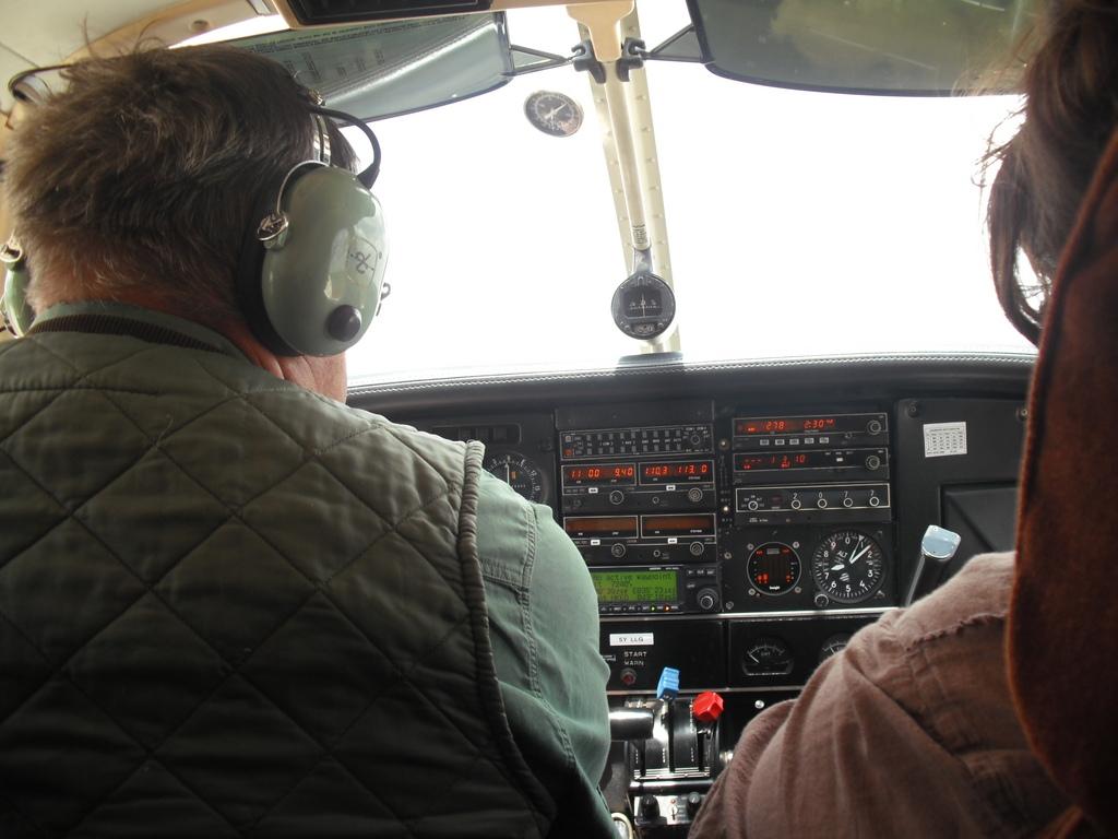 Tracking wildlife requires aerial surveys