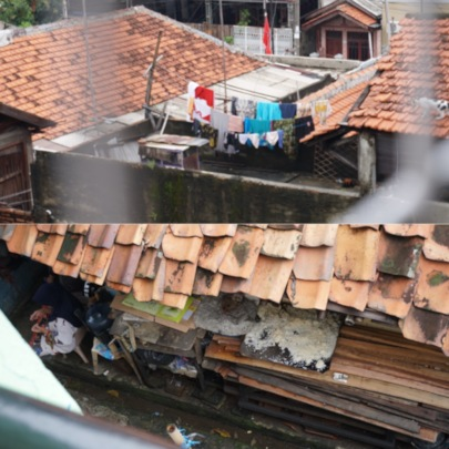 A Slum Neighborhood of Koja, North Jakarta