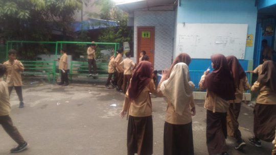 A Low-Cost School in Tambora, North Jakarta