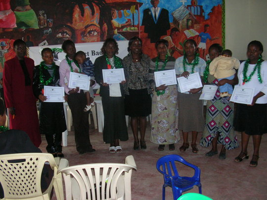 Teenage mums awardees
