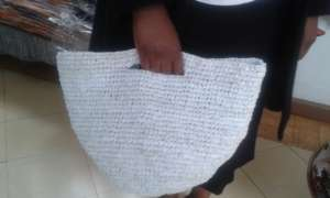 Handbag made from recycle paper