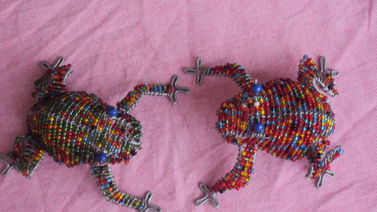 beaded animals made by teen mums