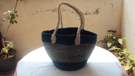 Africa bag made by the teen mums