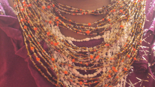 beaded necklaces made by teen mums