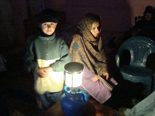 Solar Energy Lights for Women in Rural Pakistan
