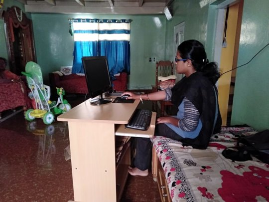Self employment in Home