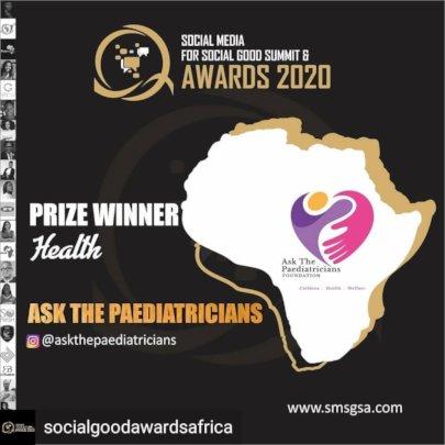 SMSGA2020 AWARD