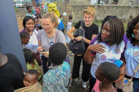 Azao-Conteil Consultants at Lagos-Oworo Outreach