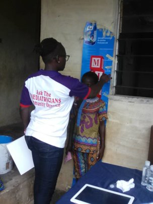 Nutritional Status Check at Epe