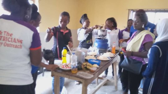 Nutrition Talk and Food Demonstration at IJEGUN