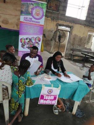 DOCTORS CONSULTING AT MAKOKO