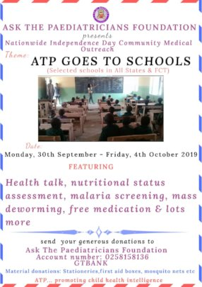 Our Point of Call - ATP GOES TO SCHOOLS