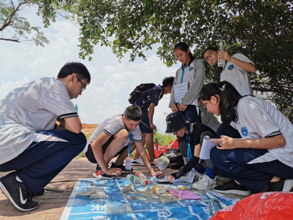 China Coastline Monitoring and Cleanup