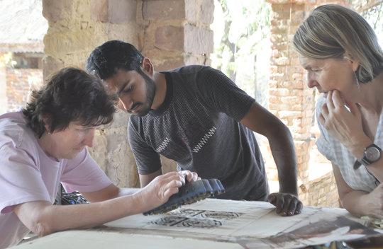 Soyab teaching printing