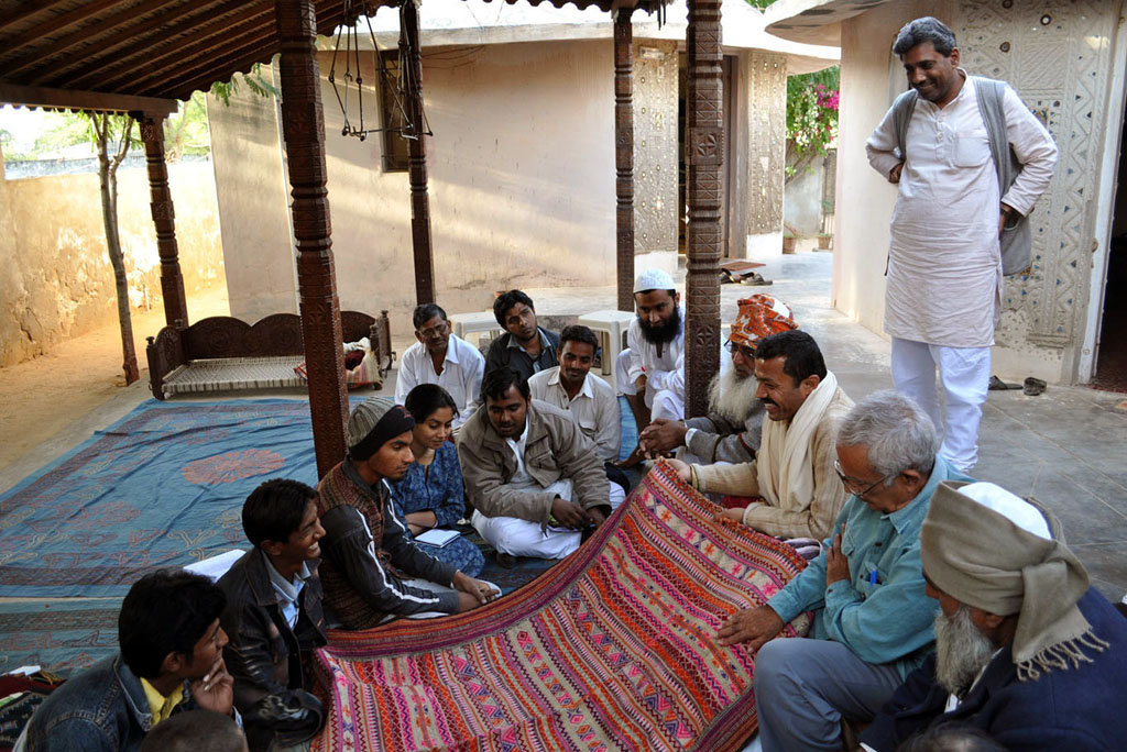 Master Artisans share with KRV students