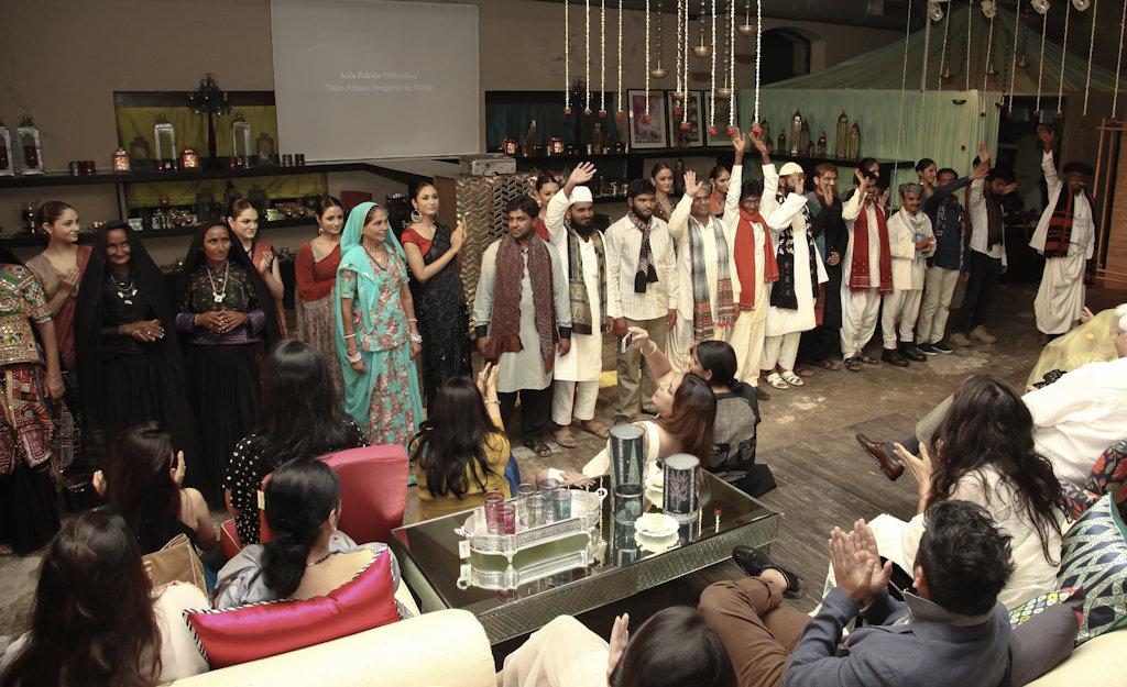 KRV graduates thank the Mumbai audience