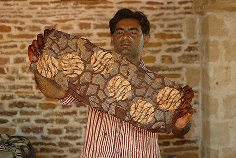 Anwar with batik inspired by Rann of Kutch