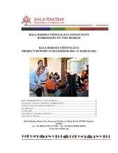 KRV_Progress_Report_15_March_2011.pdf (PDF)