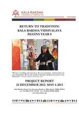 KRV Progress Report May 2013 (PDF)