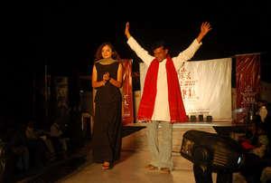 Khimjibhai triumphs at the KRV Fashion show