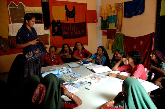 Design Education for Traditional Artisans in Kutch