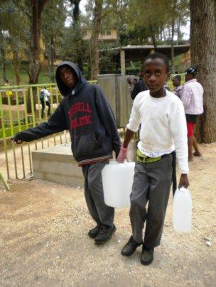 NPH children at St Helene in Kenscoff