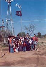 Wichi community in Las Llanas, Province of Salta