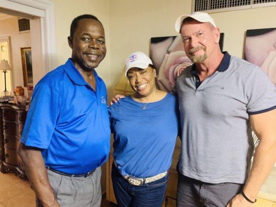 With DR and MLB great Tony Fernandez & wife Clara