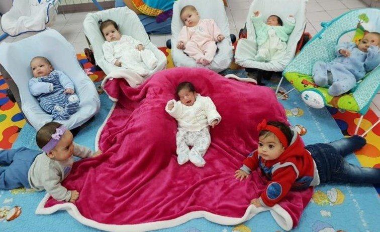 The kids of Creche