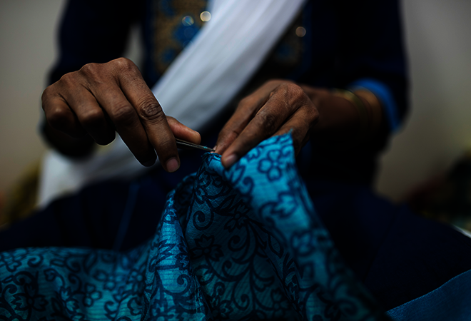 Changing Women's Lives with I was a Sari