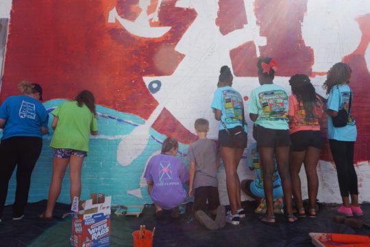 Revolution of Joy Mural 2