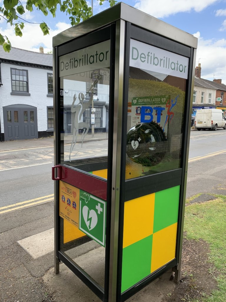 Fully Commissioned Public Access Defibrillator