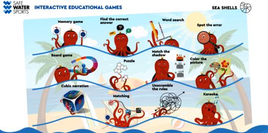 Interactive SWS games